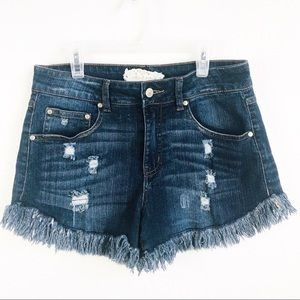 Altard State | Raymones Cut Off Frayed Jean Shorts